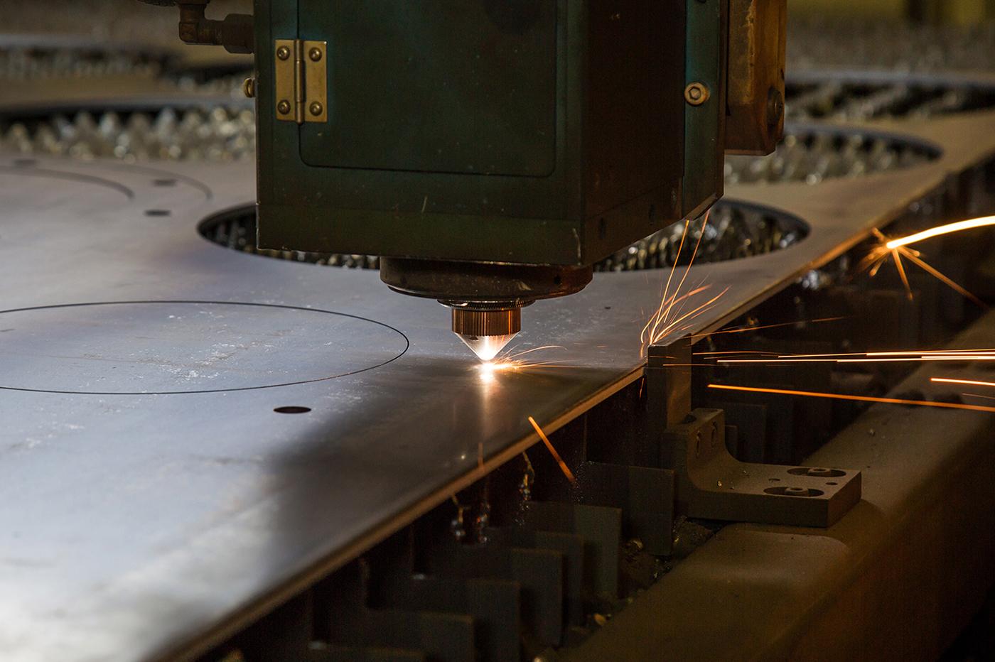 材料調達から加工まで一貫製造